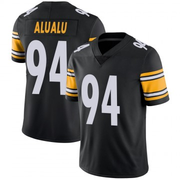 Youth Nike Pittsburgh Steelers Tyson Alualu Black Team Color Vapor Untouchable Jersey - Limited