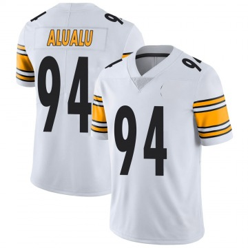 Youth Nike Pittsburgh Steelers Tyson Alualu White Vapor Untouchable Jersey - Limited