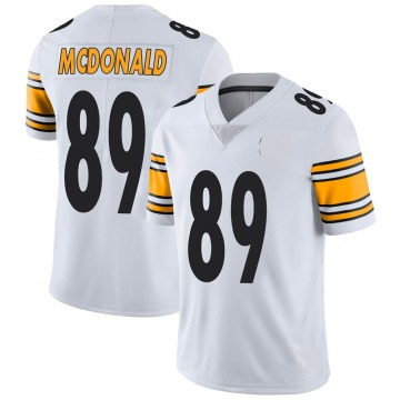 Youth Nike Pittsburgh Steelers Vance McDonald White Vapor Untouchable Jersey - Limited