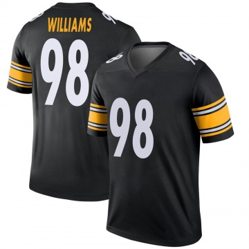 Youth Nike Pittsburgh Steelers Vince Williams Black Jersey - Legend