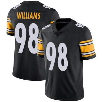 Youth Nike Pittsburgh Steelers Vince Williams Black Team Color Vapor Untouchable Jersey - Limited