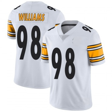 Youth Nike Pittsburgh Steelers Vince Williams White Vapor Untouchable Jersey - Limited
