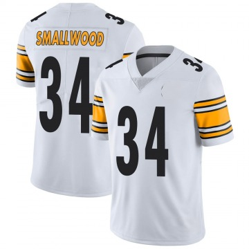 Youth Nike Pittsburgh Steelers Wendell Smallwood White Vapor Untouchable Jersey - Limited